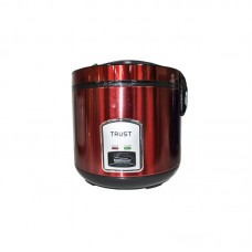 TRUST DELUXE RICE COOKER 2.2L TRDC-225S red silver