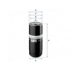 UFI OIL FILTERS 23.144.00